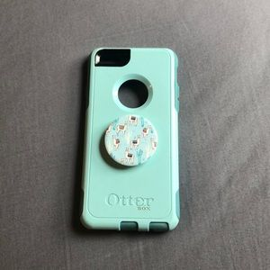 iPhone 6 Otterbox Case with PopSocket